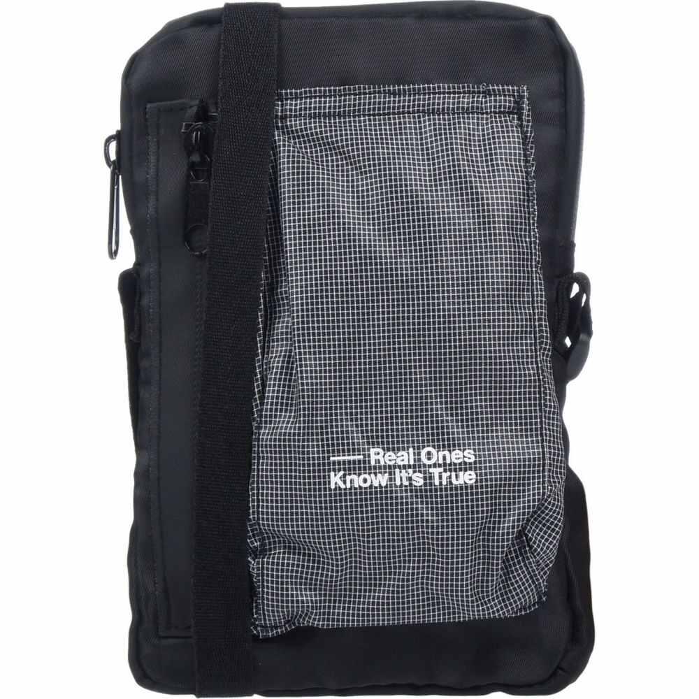ロキット ROKIT メンズ ショルダーバッグ バッグ【cross-body bags】Black