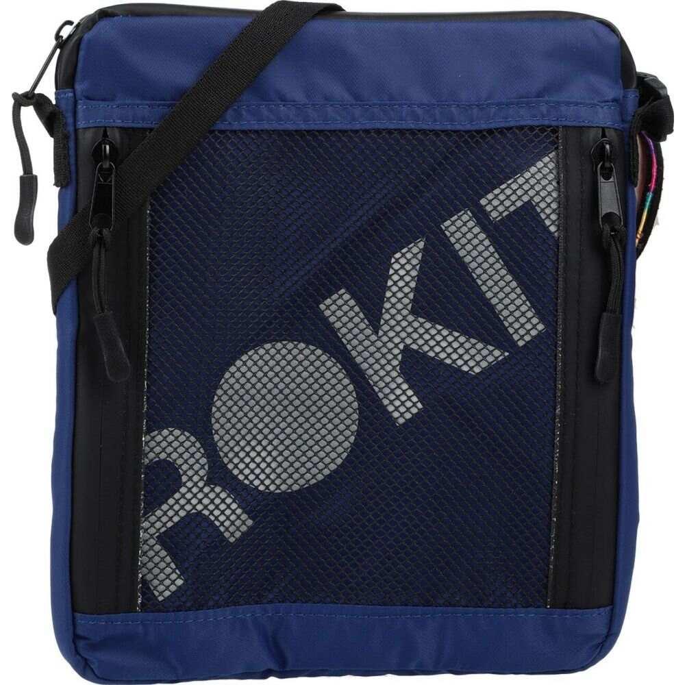 ロキット ROKIT メンズ ショルダーバッグ バッグ【cross-body bags】Blue