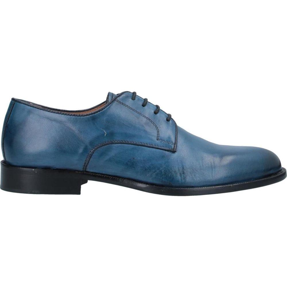 エクストン EXTON メンズ シューズ・靴 【laced shoes】Blue