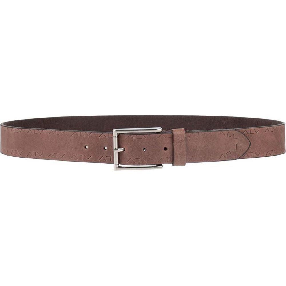 エーエルブイ ALV ANDARE LONTANO VIAGGIANDO メンズ ベルト 【leather belt】Dove grey