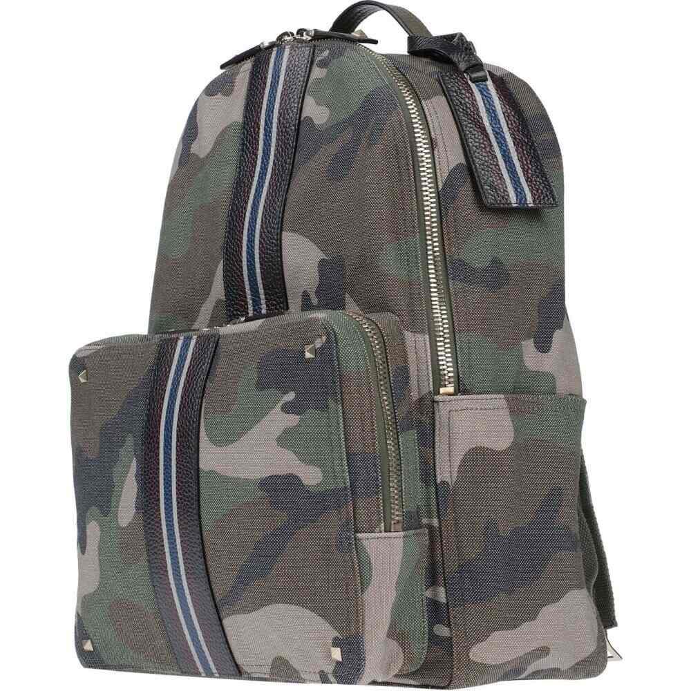 ヴァレンティノ VALENTINO GARAVANI メンズ バッグ 【backpack & fanny pack】Military green