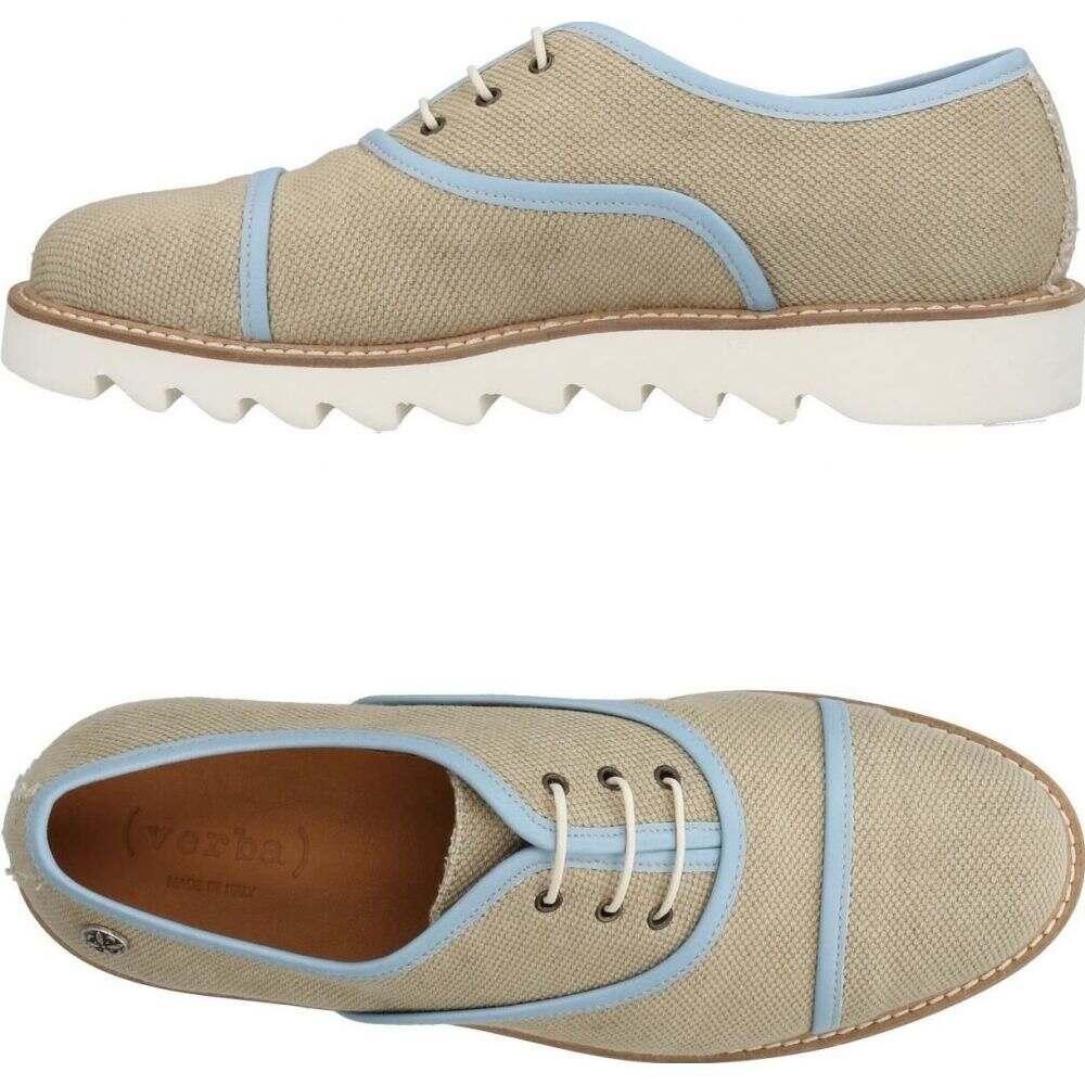 ヴェルバ ( VERBA ) メンズ シューズ・靴 【laced shoes】Sand