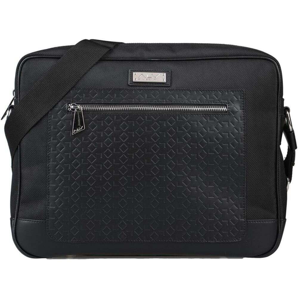 エーエルブイ ALV ANDARE LONTANO VIAGGIANDO メンズ ショルダーバッグ バッグ【cross-body bags】Black