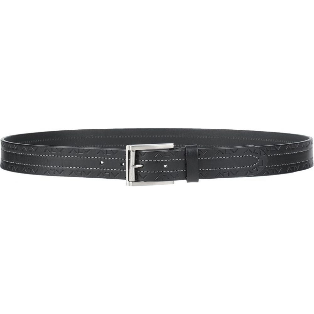 エーエルブイ ALV ANDARE LONTANO VIAGGIANDO メンズ ベルト 【leather belt】Black