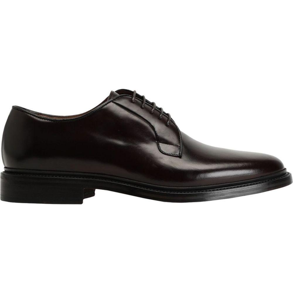 オット バイ ユークス 8 by YOOX メンズ シューズ・靴 【laced shoes】Dark brown