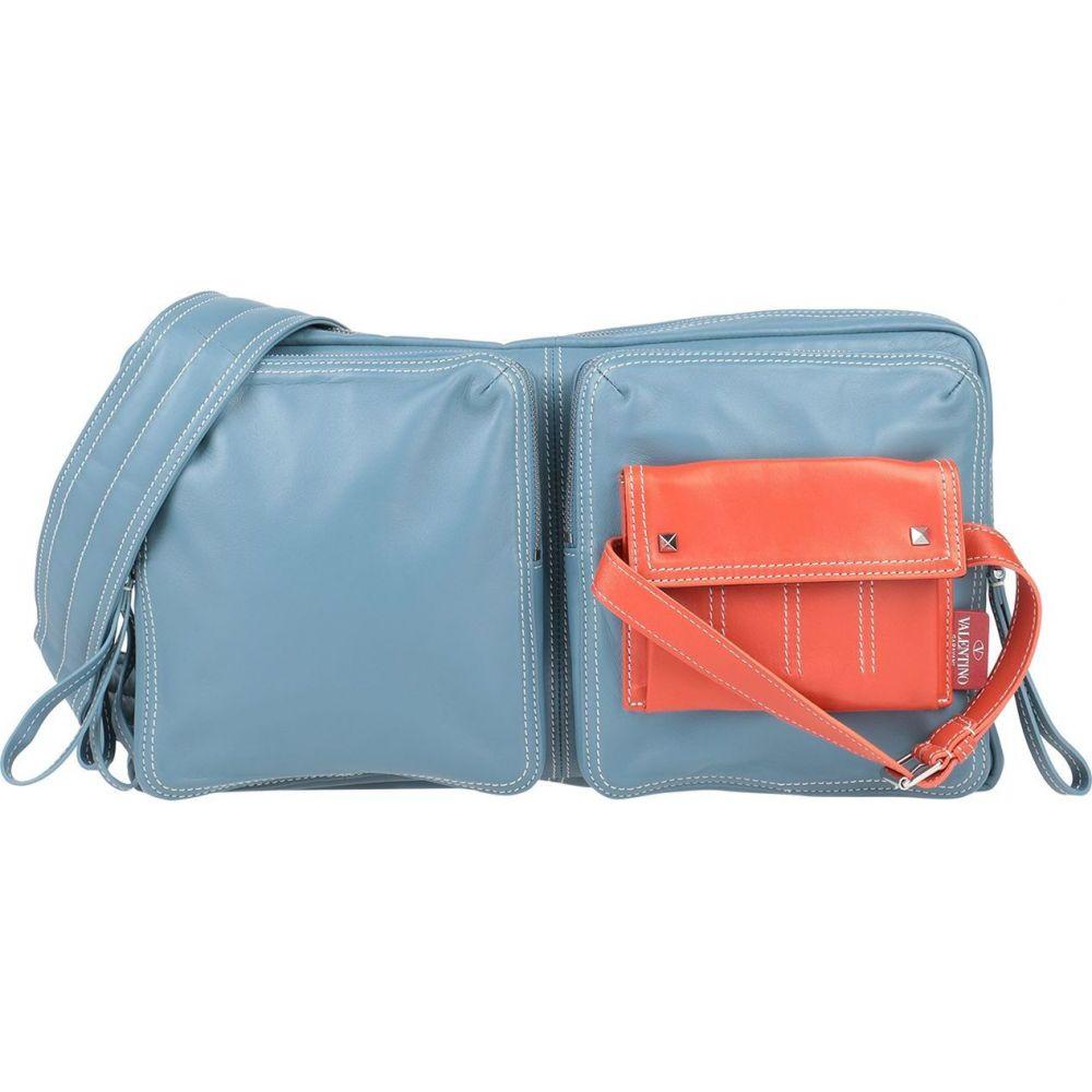 ヴァレンティノ VALENTINO GARAVANI メンズ ショルダーバッグ バッグ【cross-body bags】Pastel blue