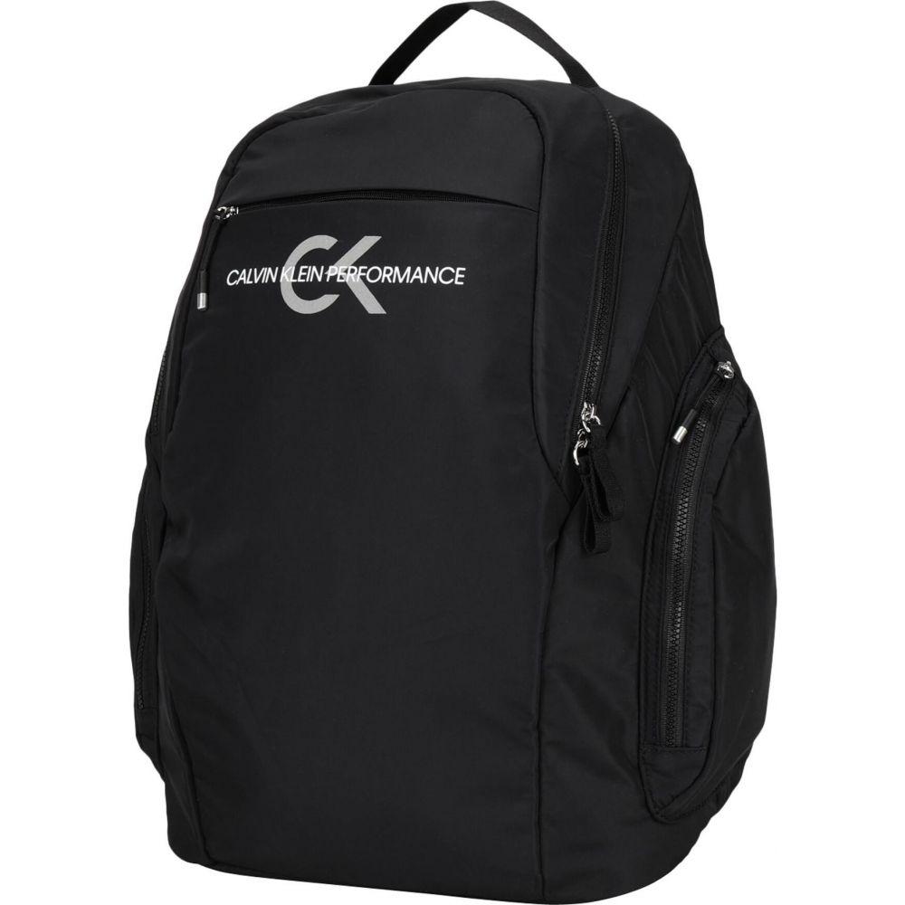 カルバンクライン CALVIN KLEIN PERFORMANCE メンズ バックパック・リュック バッグ【icon backpack 38 cm】Black