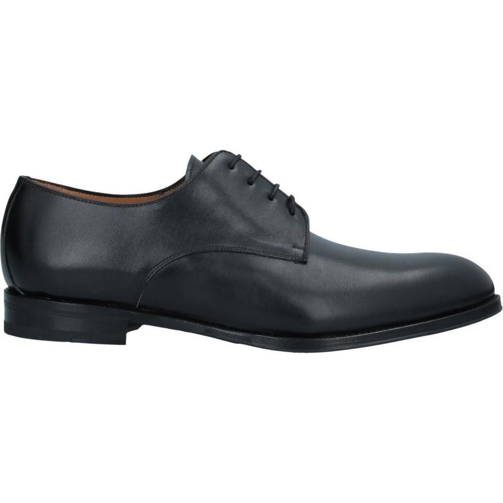 カルセ CALCE メンズ シューズ・靴 【laced shoes】Black