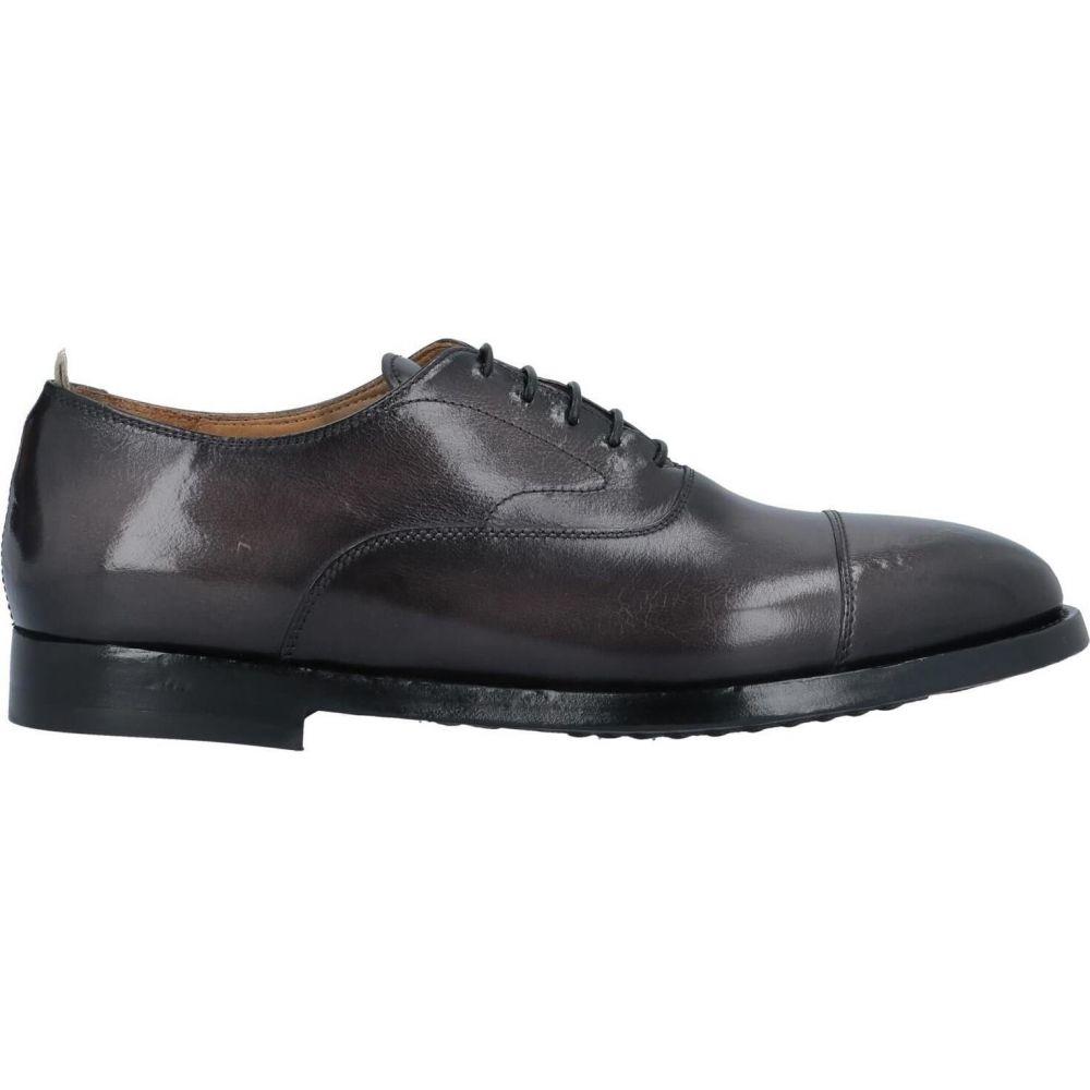 オフィチーネ クリエイティブ OFFICINE CREATIVE ITALIA メンズ シューズ・靴 【laced shoes】Steel grey