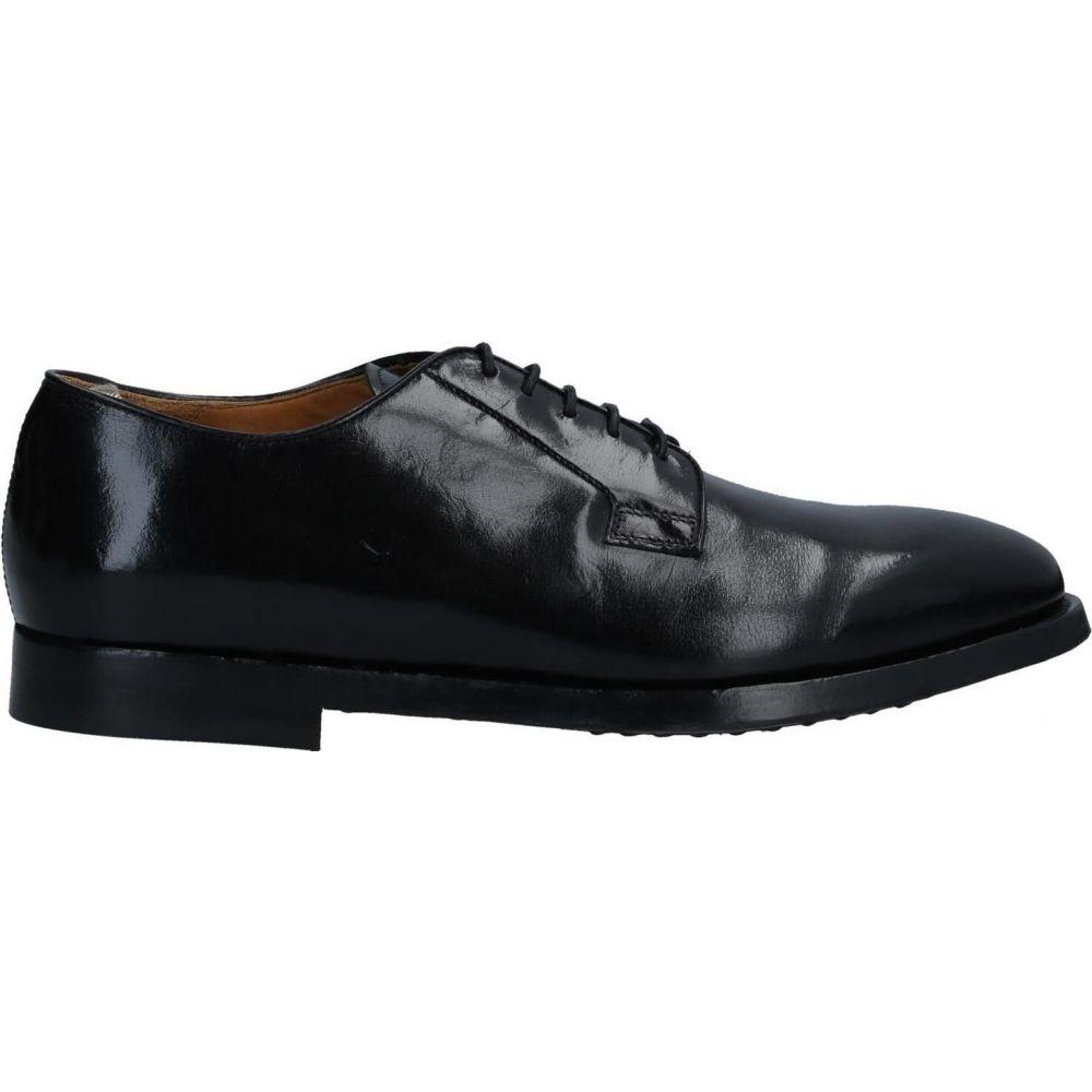 オフィチーネ クリエイティブ OFFICINE CREATIVE ITALIA メンズ シューズ・靴 【laced shoes】Black
