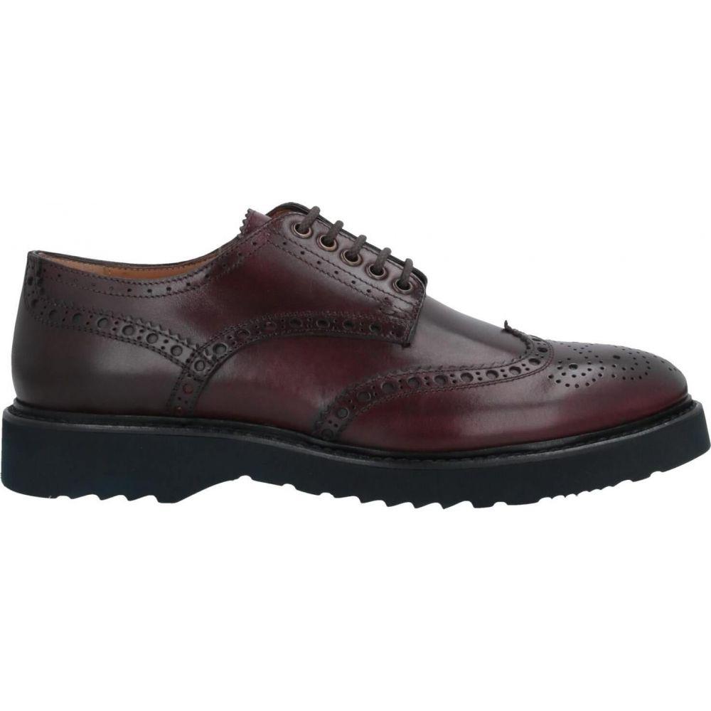 カルピエッレ CALPIERRE メンズ シューズ・靴 【laced shoes】Maroon