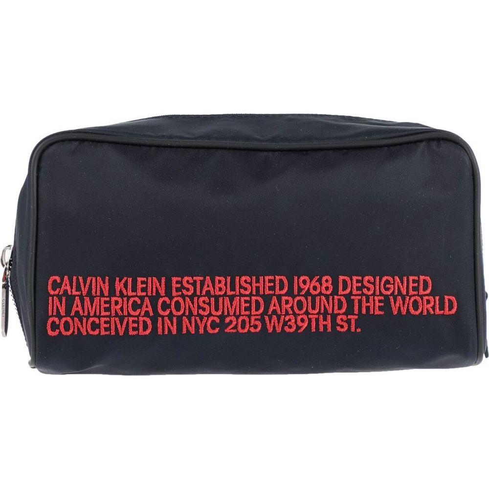 カルバンクライン CALVIN KLEIN 205W39NYC メンズ ポーチ 【beauty case】Dark blue