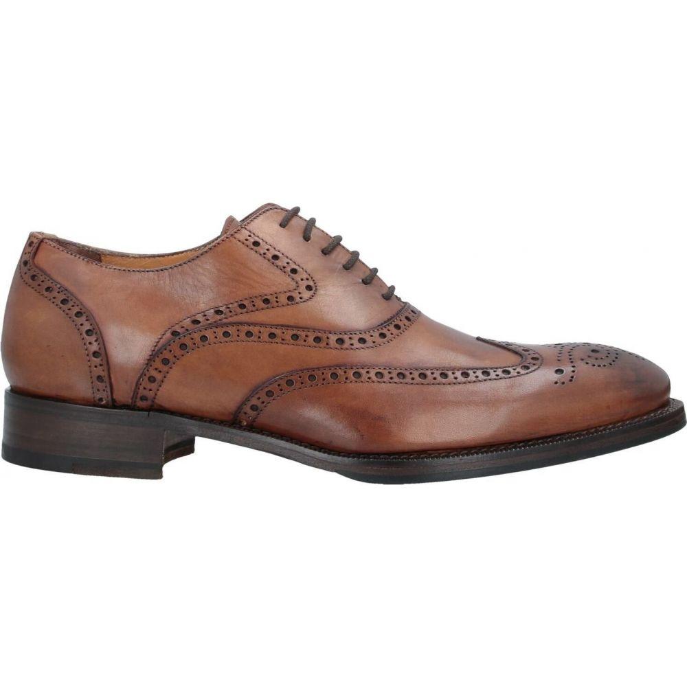 カルピエッレ CALPIERRE メンズ シューズ・靴 【laced shoes】Tan
