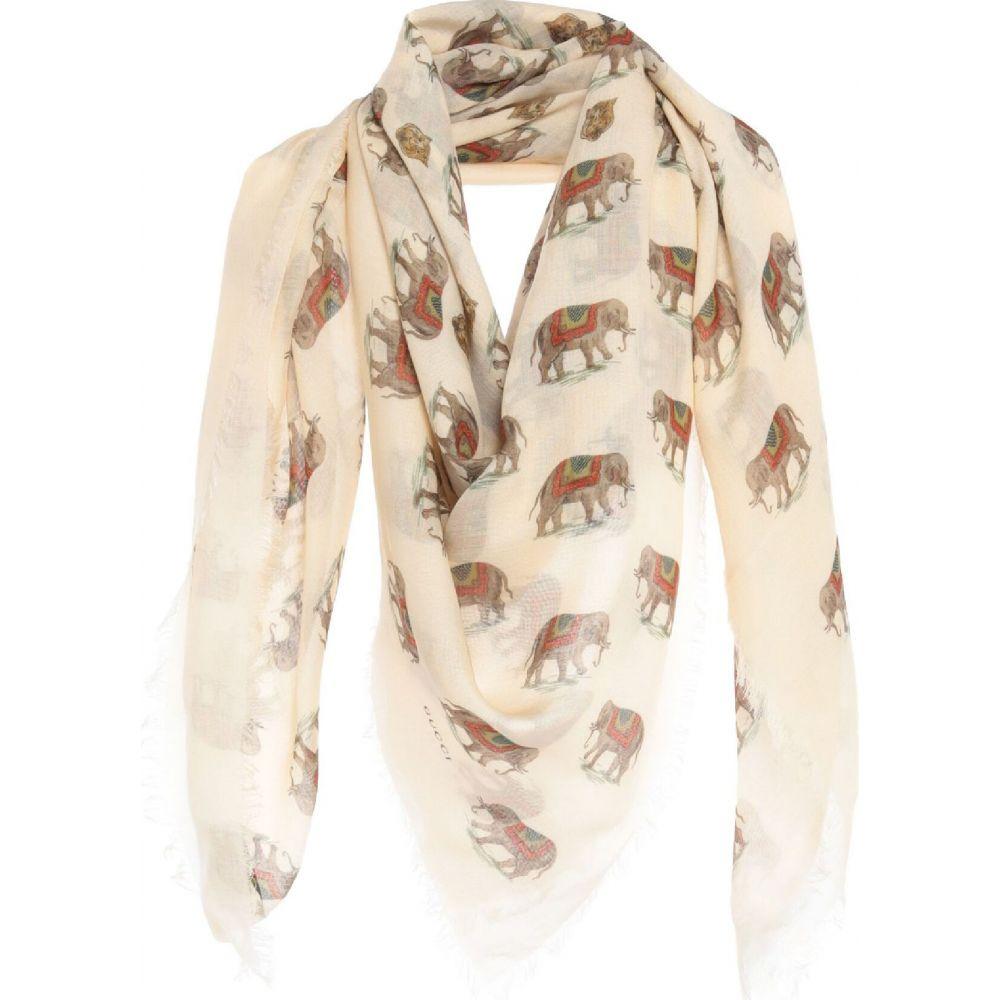 グッチ GUCCI メンズ マフラー・スカーフ・ストール 【square scarf】Ivory