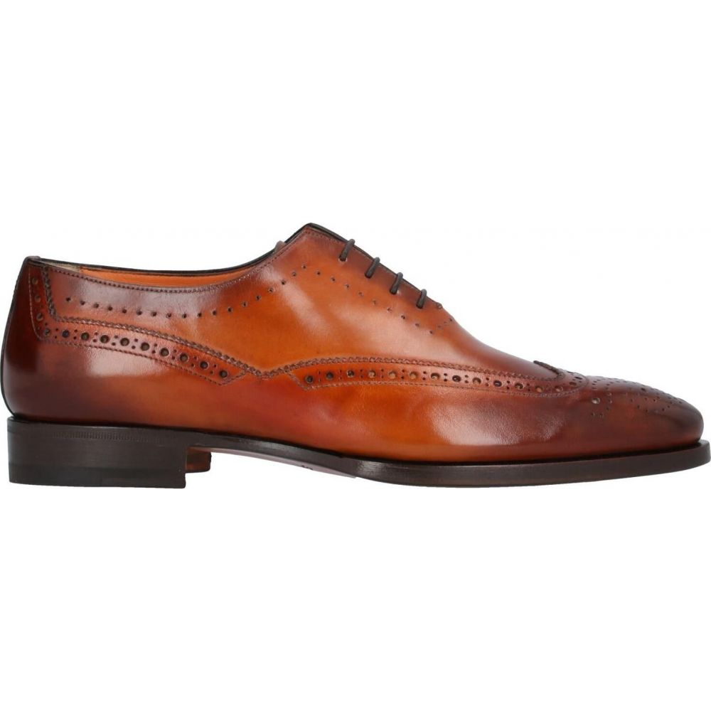 サントーニ SANTONI メンズ シューズ・靴 【laced shoes】Brown