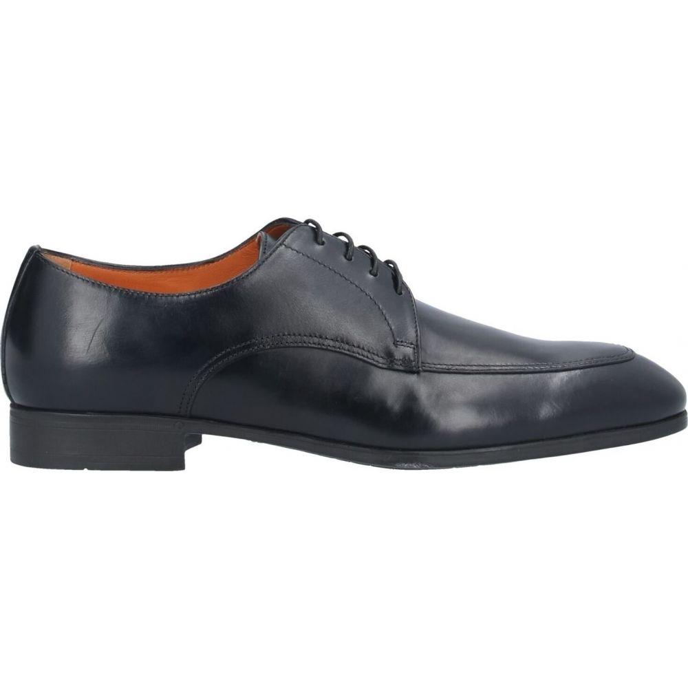 サントーニ SANTONI メンズ シューズ・靴 【laced shoes】Black