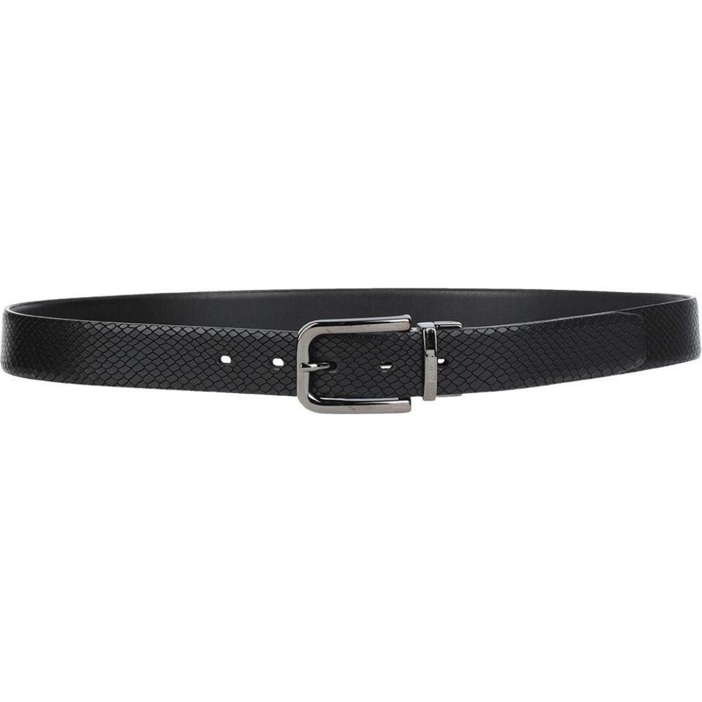 ジャスト カヴァリ JUST CAVALLI メンズ ベルト 【leather belt】Black
