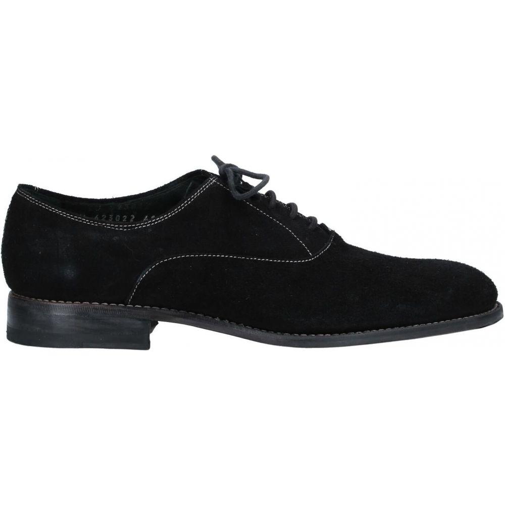 ゼノビ ZENOBI メンズ シューズ・靴 【laced shoes】Black