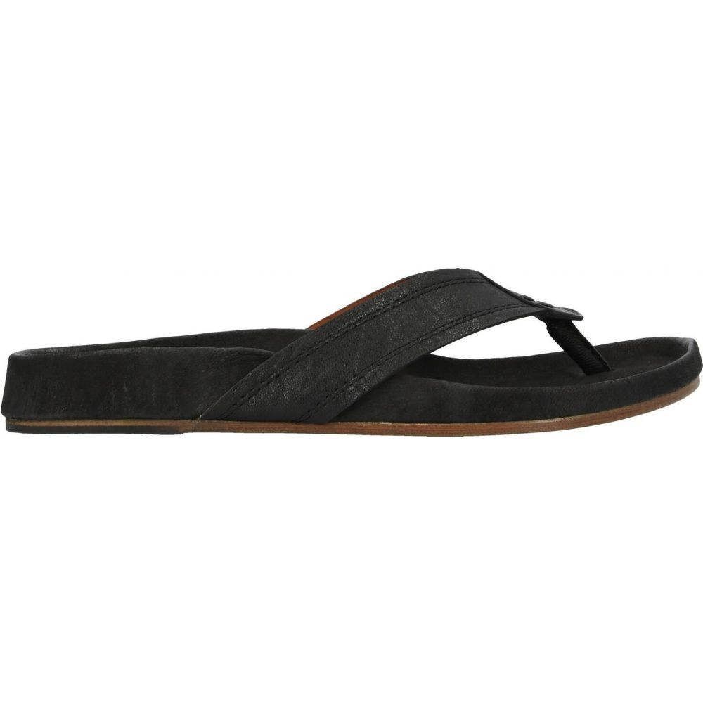 ジョン バルベイトス JOHN VARVATOS メンズ ビーチサンダル シューズ・靴【flip flops】Black