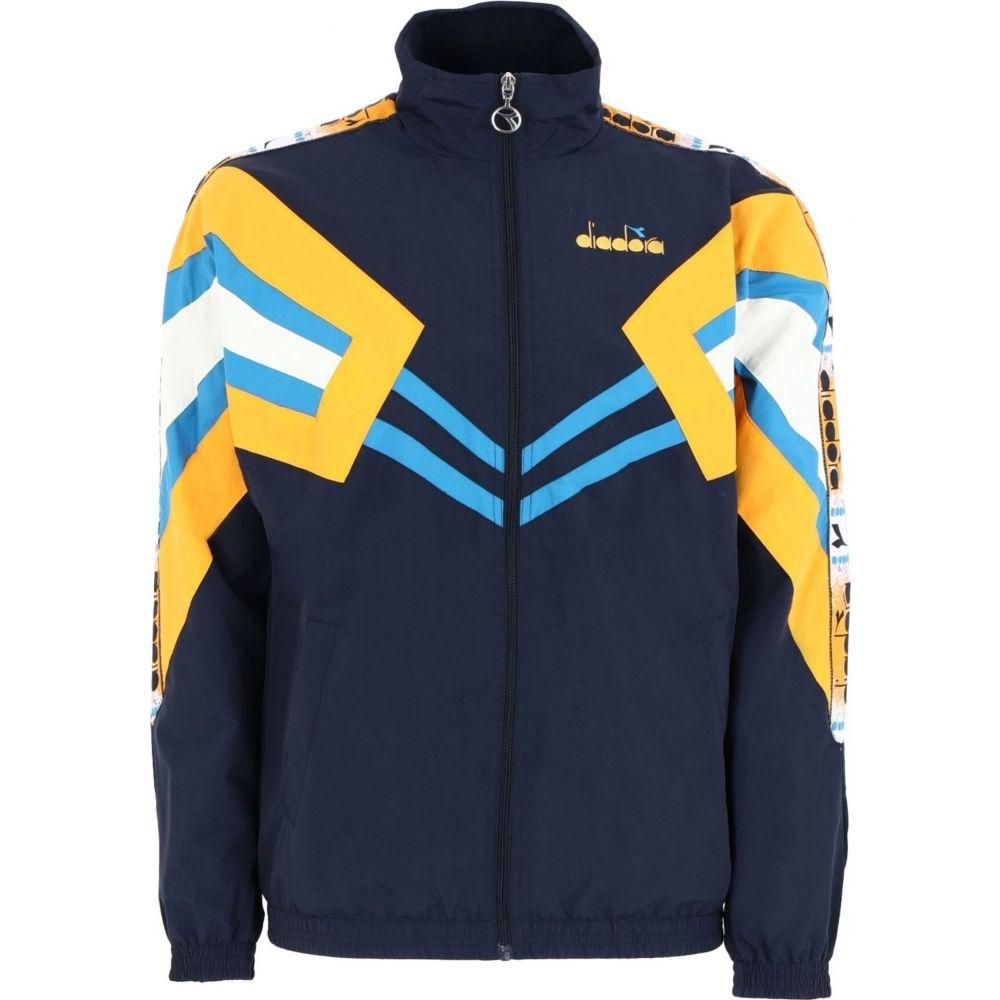 ディアドラ DIADORA メンズ ジャージ アウター【track jacket mvb jacket】Dark blue