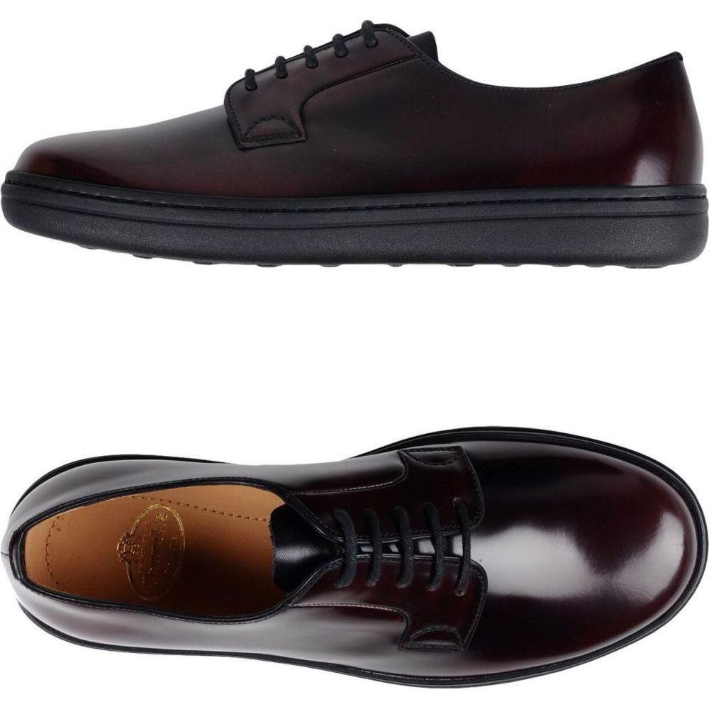 チャーチ CHURCH'S メンズ シューズ・靴 【laced shoes】Maroon