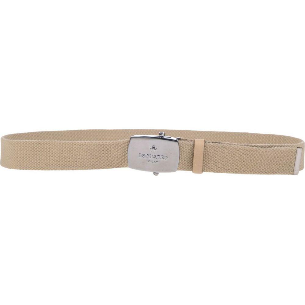 ディースクエアード DSQUARED2 メンズ ベルト 【fabric belt】Beige
