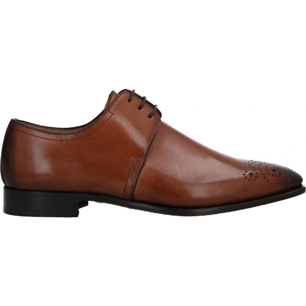 ステファノ ブランキーニ STEFANO BRANCHINI メンズ シューズ・靴 【laced shoes】Tan