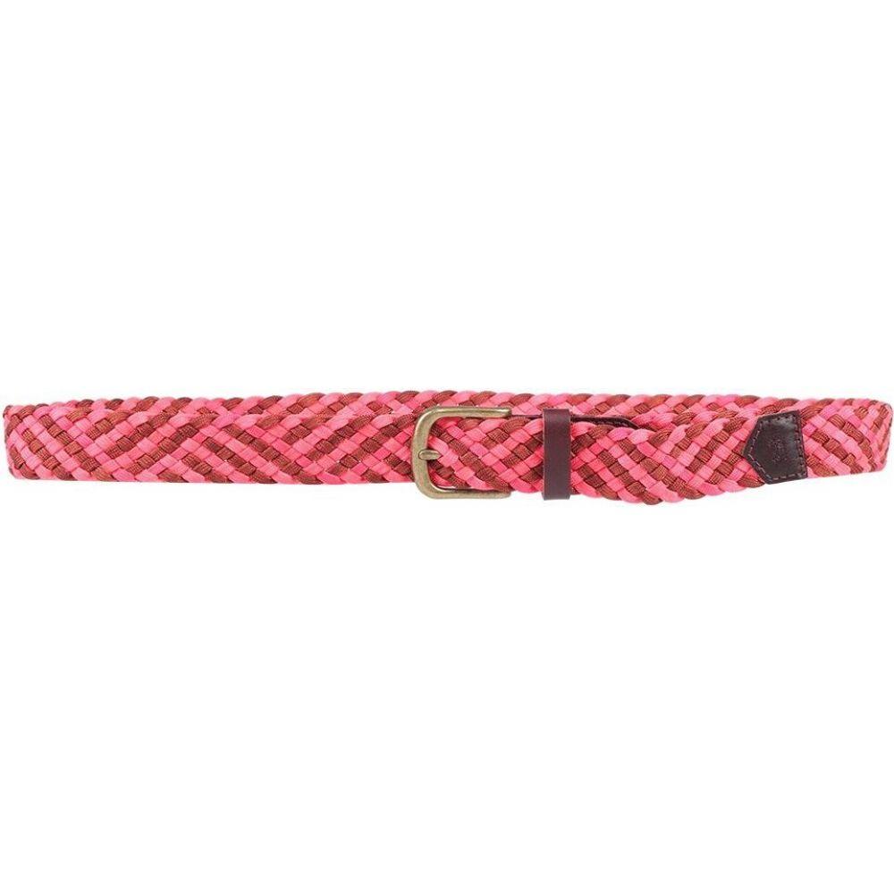 スコッチ&ソーダ SCOTCH & SODA メンズ ベルト 【leather belt】Fuchsia