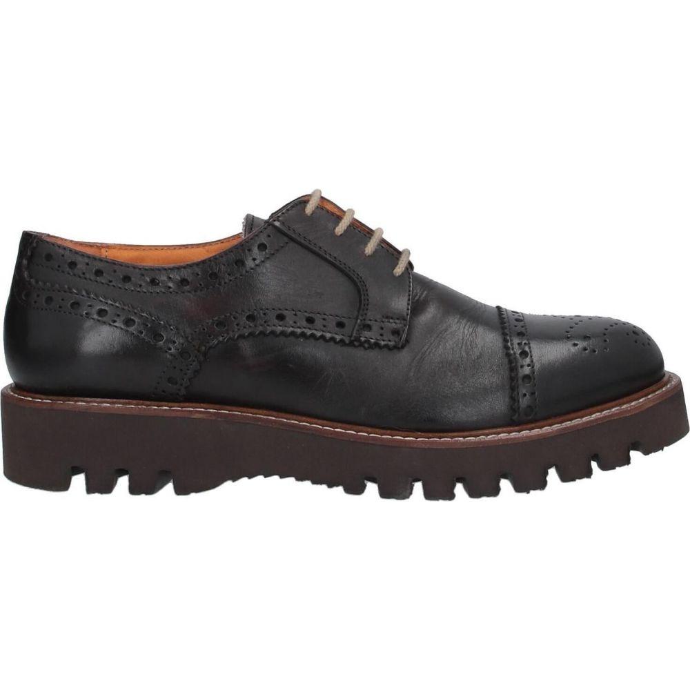 ドメニコ タリエンテ DOMENICO TAGLIENTE メンズ シューズ・靴 【laced shoes】Dark brown