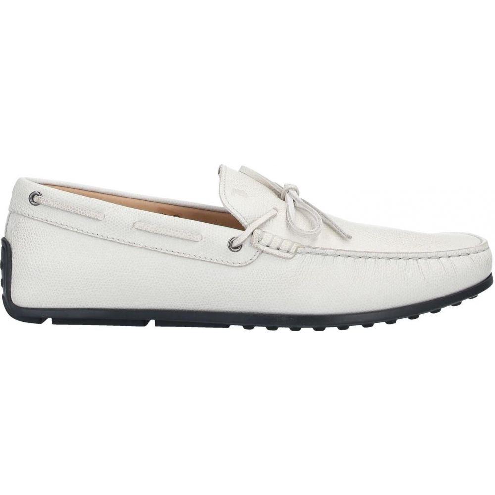 トッズ TOD'S メンズ ローファー シューズ・靴【loafers】Light grey:フェルマート