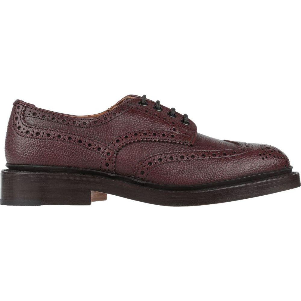トリッカーズ TRICKER'S メンズ シューズ・靴 【laced shoes】Maroon