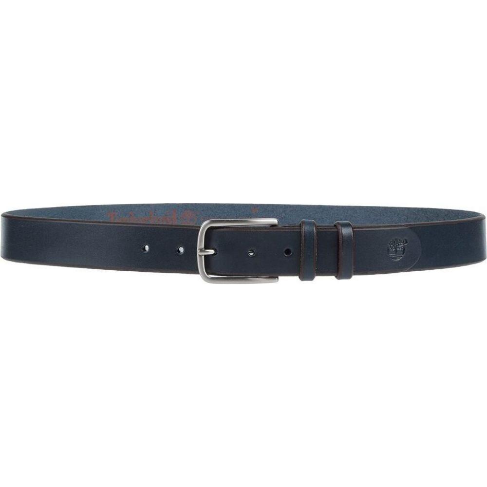 ティンバーランド TIMBERLAND メンズ ベルト 【leather belt】Dark blue
