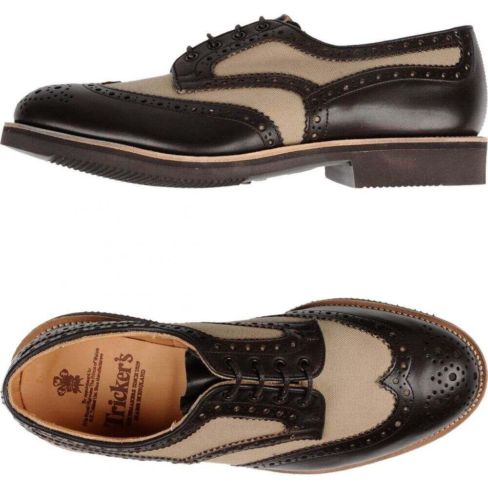 トリッカーズ TRICKER'S メンズ シューズ・靴 【laced shoes】Dark brown