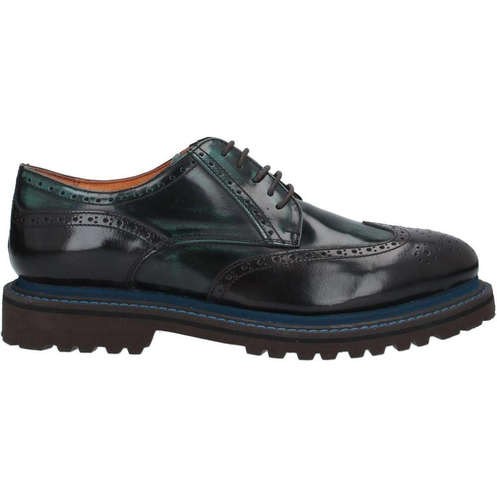 ドメニコ タリエンテ DOMENICO TAGLIENTE メンズ シューズ・靴 【laced shoes】Dark green