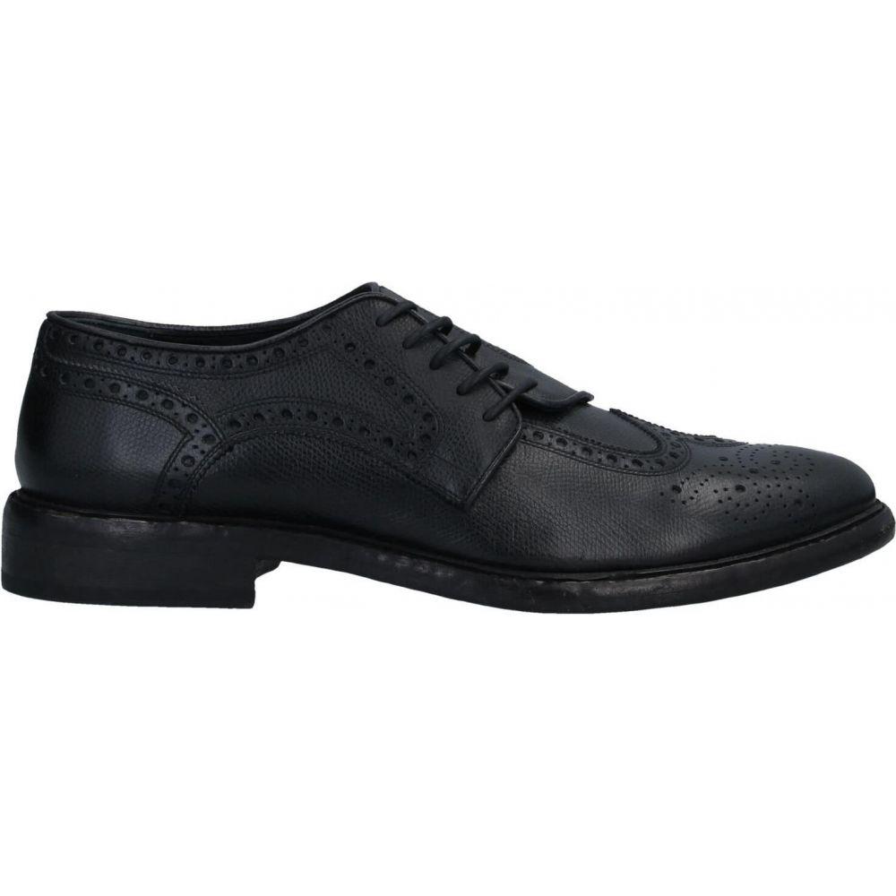 バーバリー BURBERRY メンズ シューズ・靴 【laced shoes】Black