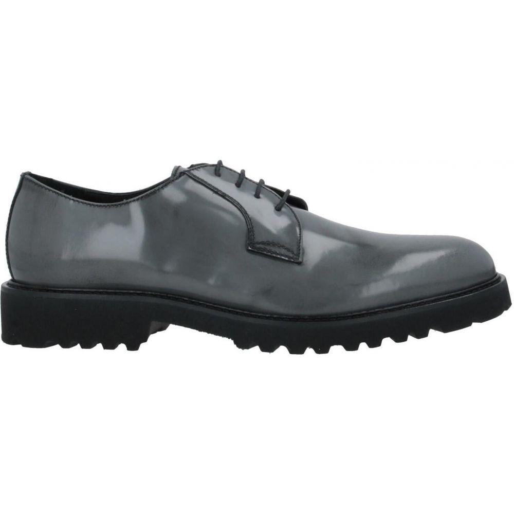 パウロダポンテ PAOLO DA PONTE メンズ シューズ・靴 【laced shoes】Grey