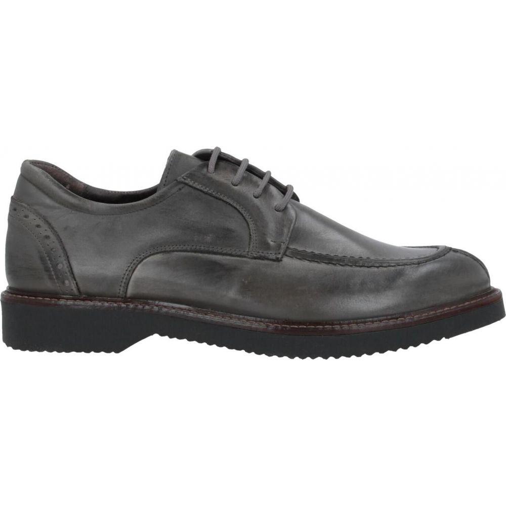 パウロダポンテ PAOLO DA PONTE メンズ シューズ・靴 【laced shoes】Lead