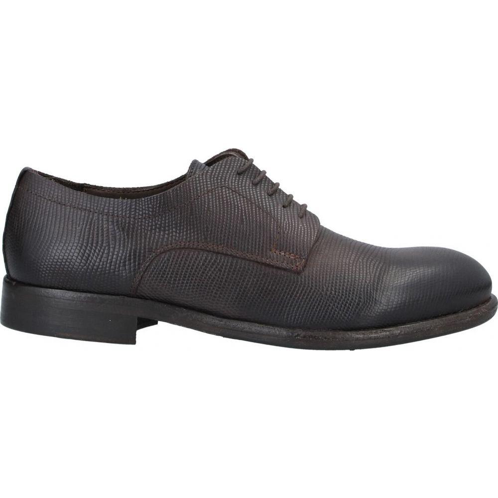 パウエルクス PAWELK'S メンズ シューズ・靴 【laced shoes】Dark brown