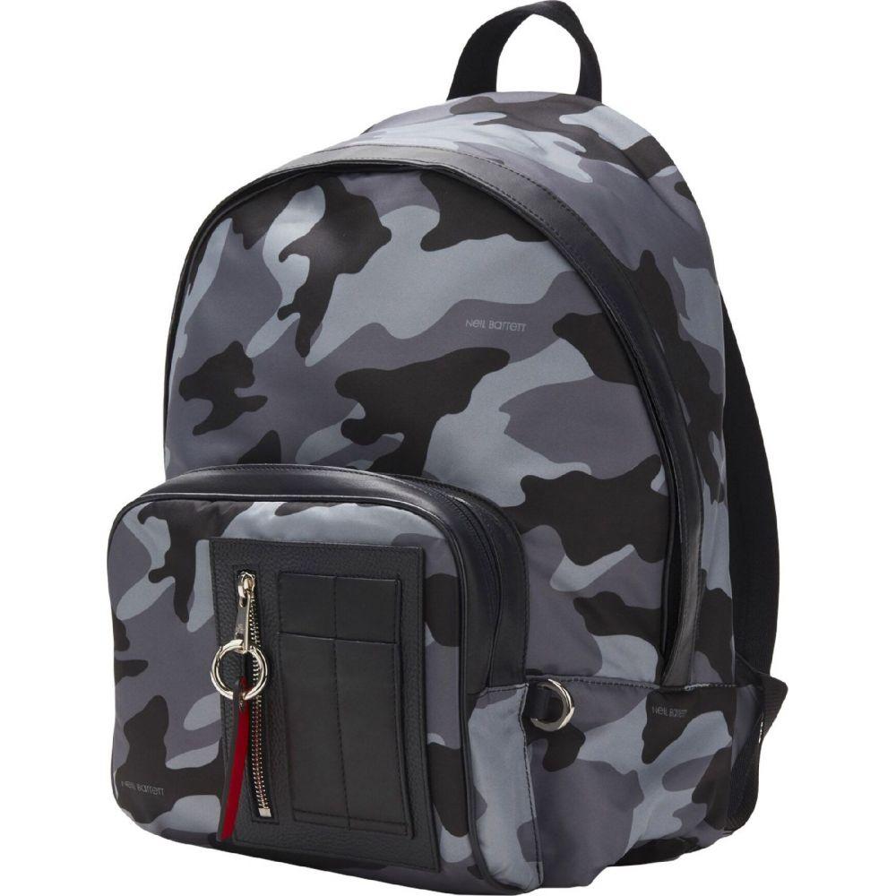 ニール バレット NEIL BARRETT メンズ バッグ 【backpack & fanny pack】Grey