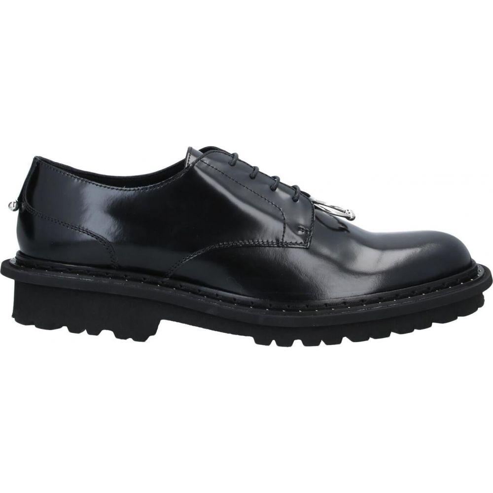 ニール バレット NEIL BARRETT メンズ シューズ・靴 【laced shoes】Black