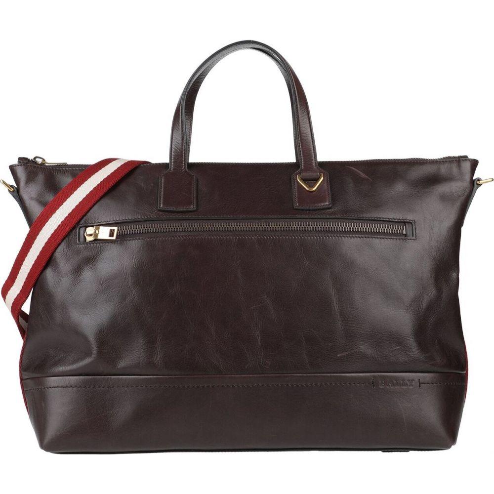 バリー BALLY メンズ ハンドバッグ バッグ【handbag】Dark brown
