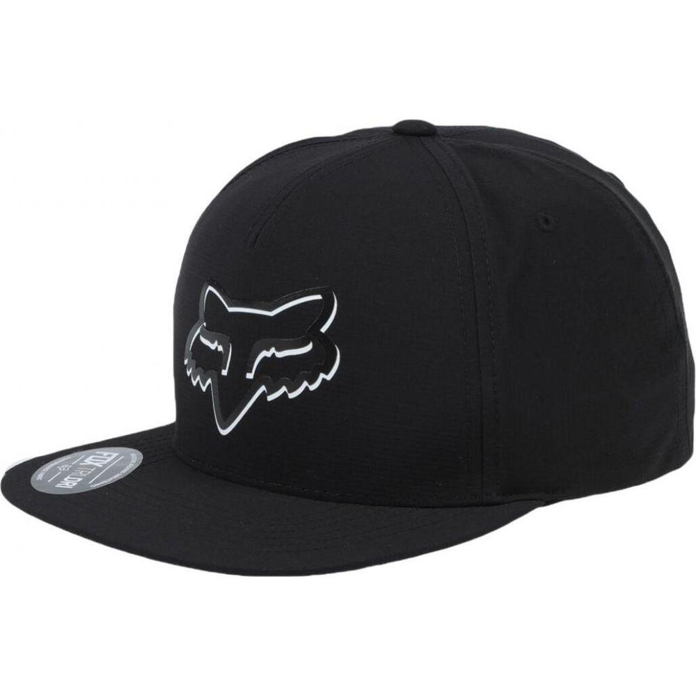 フォックス レーシング FOX RACING メンズ キャップ スナップバック 帽子【fx shaded snapback hat】Black