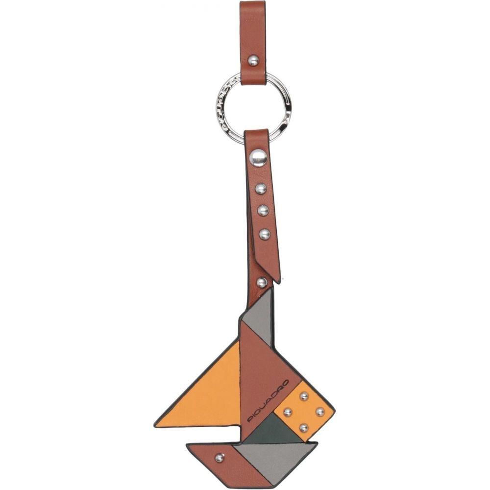 ピクアドロ PIQUADRO メンズ キーホルダー 【key ring】Brown