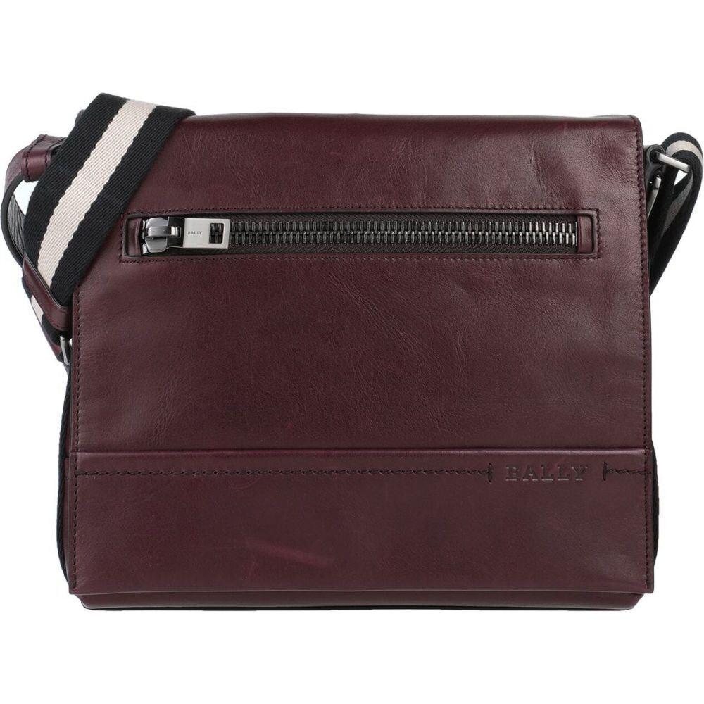 バリー BALLY メンズ ショルダーバッグ バッグ【cross-body bags】Maroon