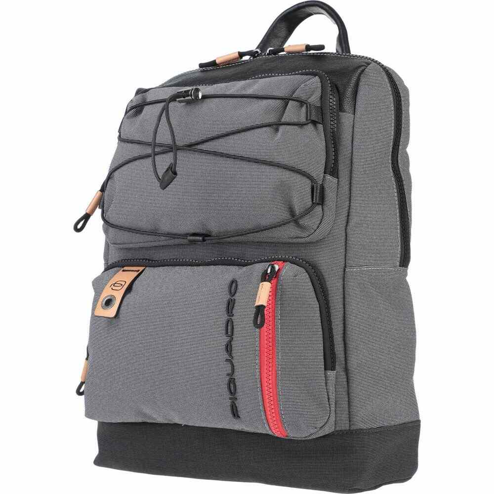 ピクアドロ PIQUADRO メンズ バッグ 【backpack & fanny pack】Grey
