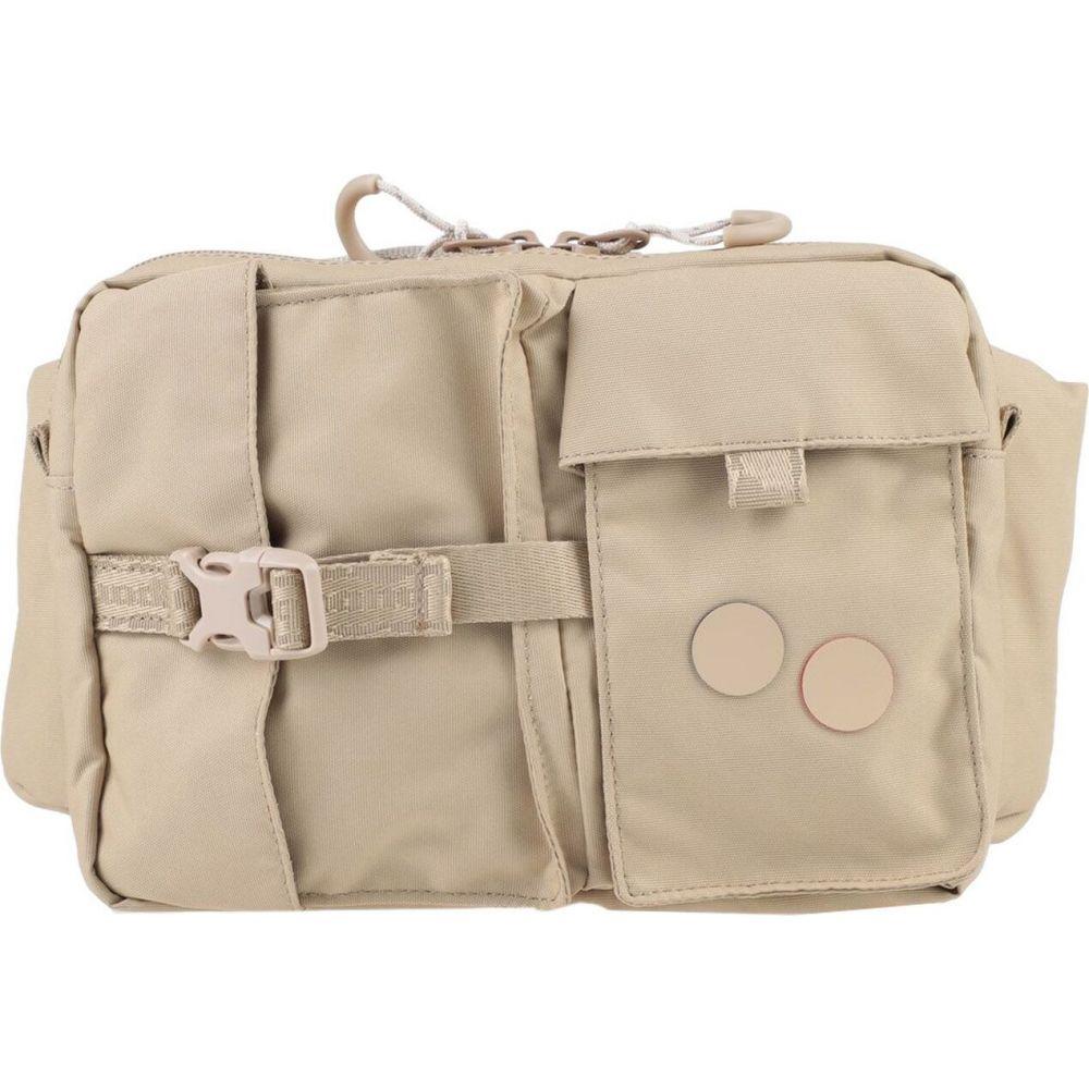 ピンポン PINQPONQ メンズ バッグ 【backpack & fanny pack】Sand