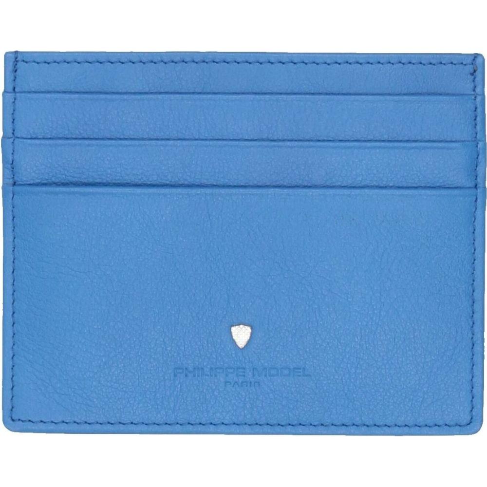 フィリップモデル PHILIPPE MODEL メンズ ビジネスバッグ・ブリーフケース バッグ【document holder】Bright blue