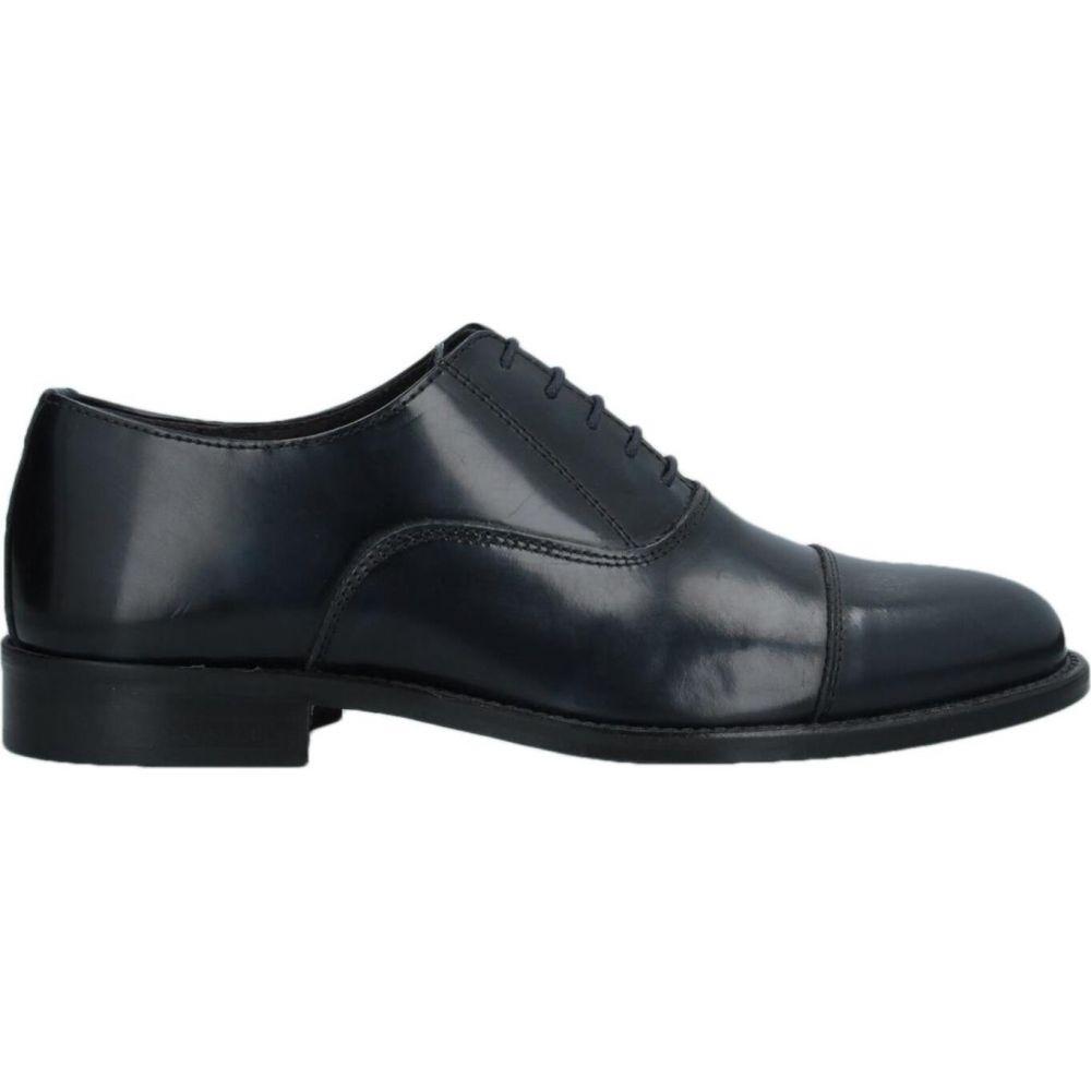 バルバッティ BARBATI メンズ シューズ・靴 【laced shoes】Black