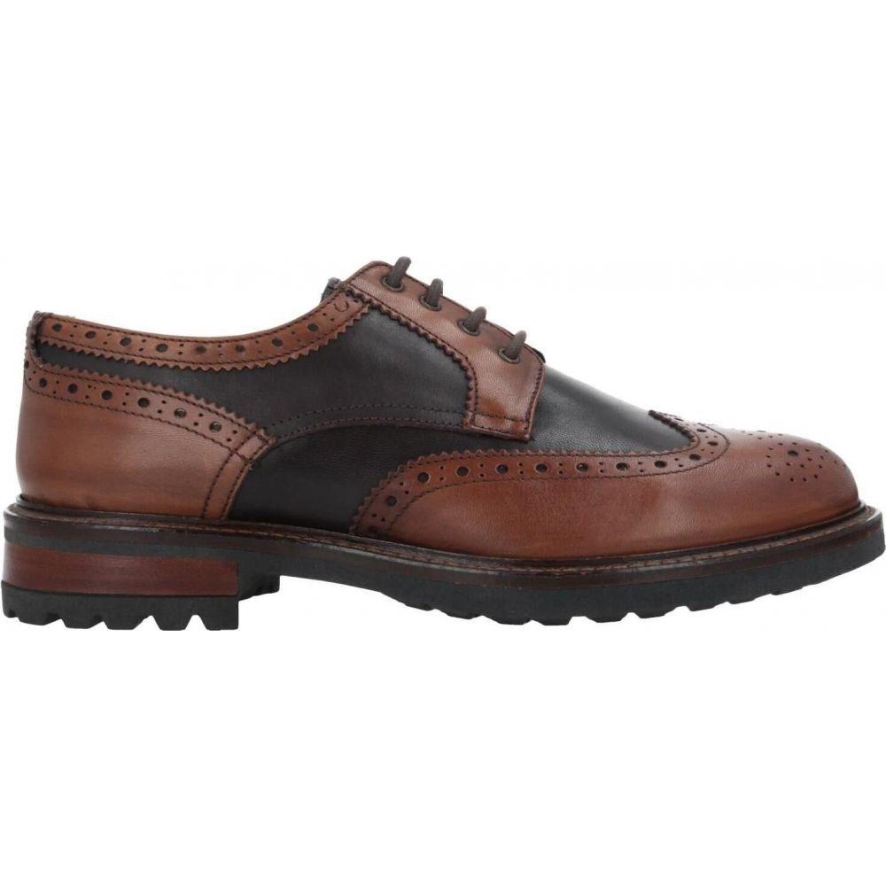 バルバッティ BARBATI メンズ シューズ・靴 【laced shoes】Brown