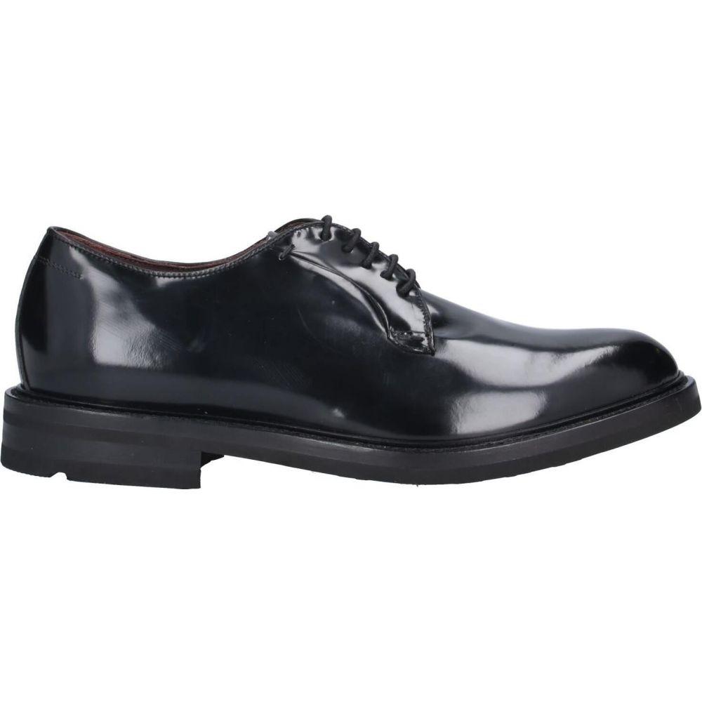 J.J. メンズ シューズ・靴 【laced shoes】Black